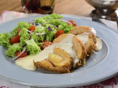 Pollo Cordon Blue Horneada