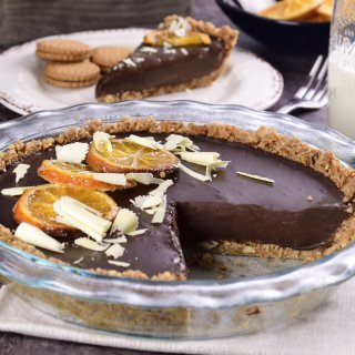 Chocolate Cake with Orange