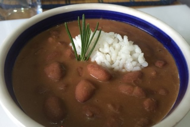 Bean With Rice