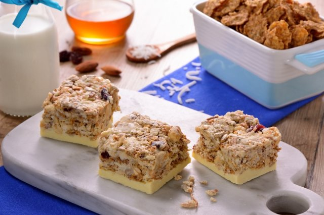 Fitness Cereal Bars without Oven