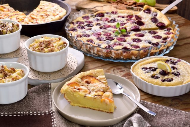 4 Clafoutis recipes
