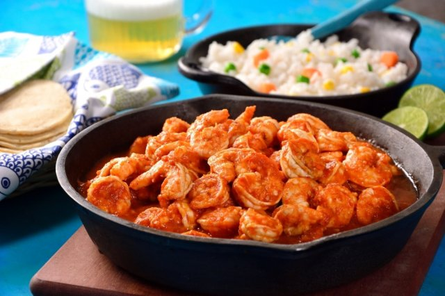 SHRIMPS  IN  CHIPOTLE  SAUCE
