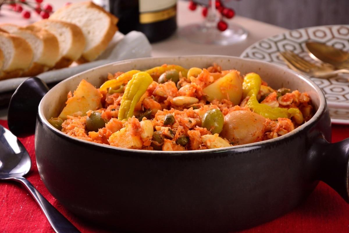 Bacalao A La Vizcaina Recipe In Spanish Dandk Organizer