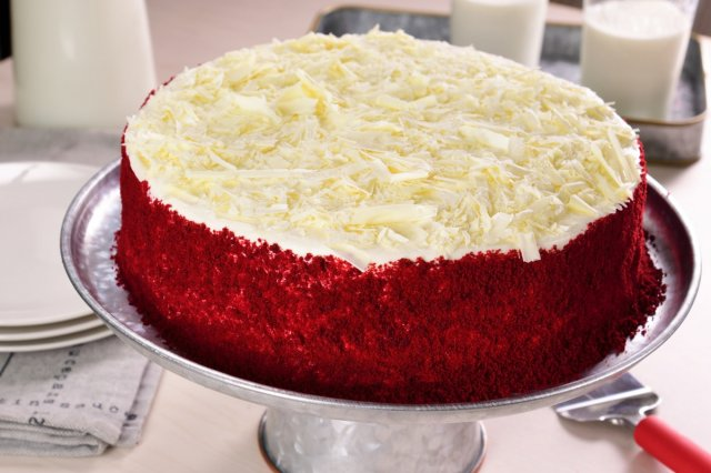 Pastel Red Velvet con Cheesecake