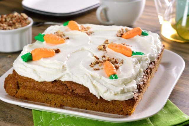 Carrot Brownie Cake