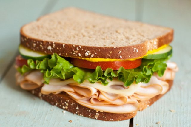 Healthy Sandwich and Fitness