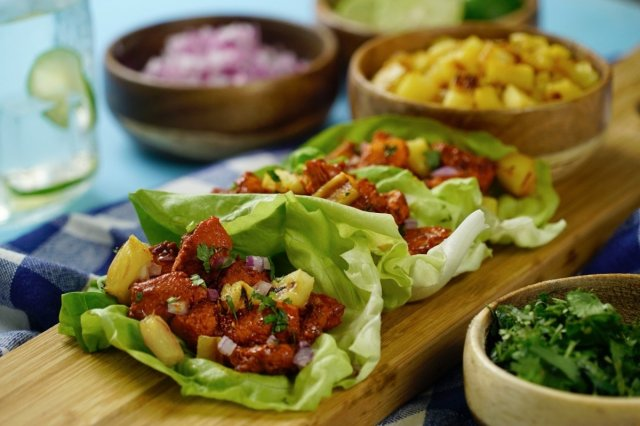 Lettuce Tacos with Chicken to the Shepherd