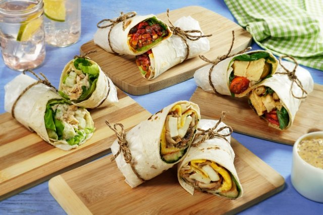 4 Wraps to Take Away