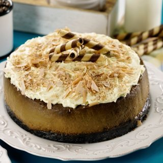 Cheesecake de Capuchino