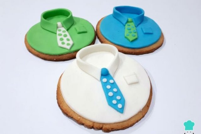Decorated Cookies for Father's Day