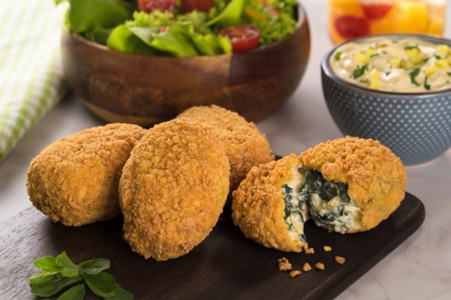 Spinach Croquettes with Cheese