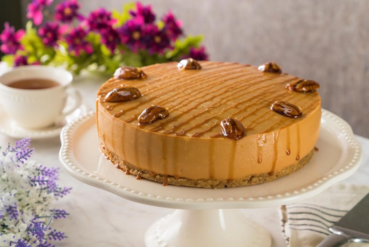 Cheesecake De Cajeta Sin Horno