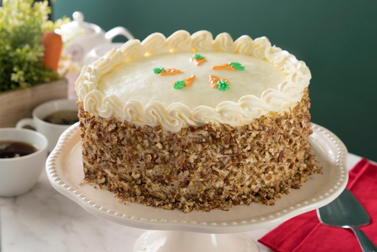 Carrot Cake With Pancake Mix Es la primera vez que preparo esta receta y me salió muy rico el cake. carrot cake with pancake mix