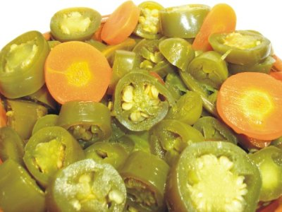 Chiles en Escabeche