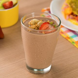 Chocolate Smoothie with Bananas