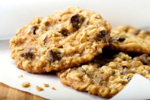 Galletas de Avena con Chocolate y Arándanos