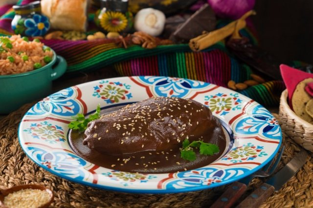 Chicken in Mole Sauce