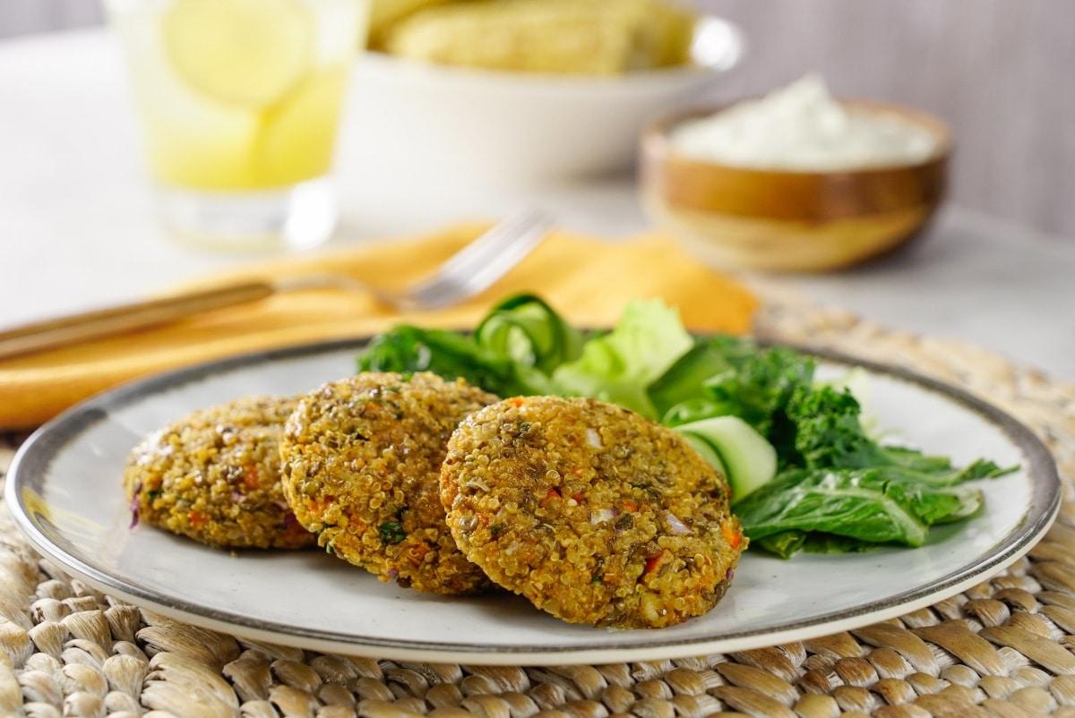 Dieta de quinoa y lentejas
