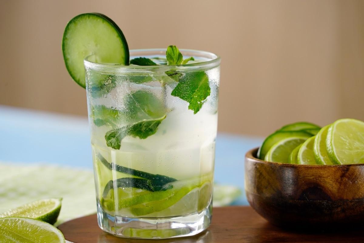 Cucumber Mojito Low Calorie