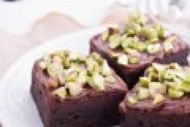 Brownies with Pistaches