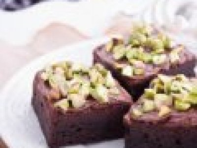 Brownies con Pistaches
