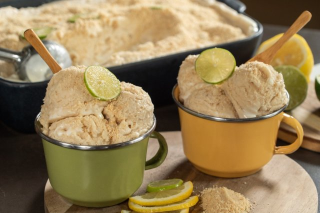 Low Sugar Mexican Key Lime Ice Cream