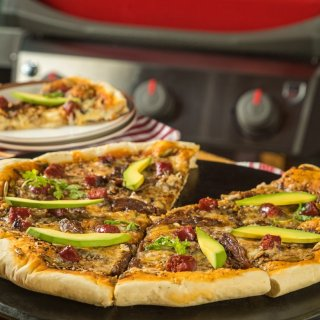 Skirt Steak Pizza