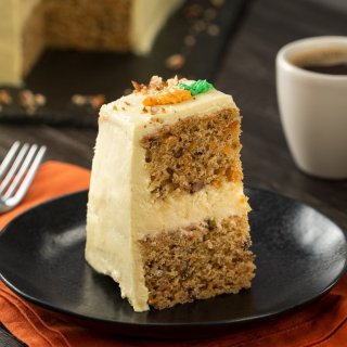 Grilled Carrot Cake