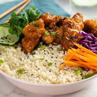 Sweet and Sour Pork Bowl
