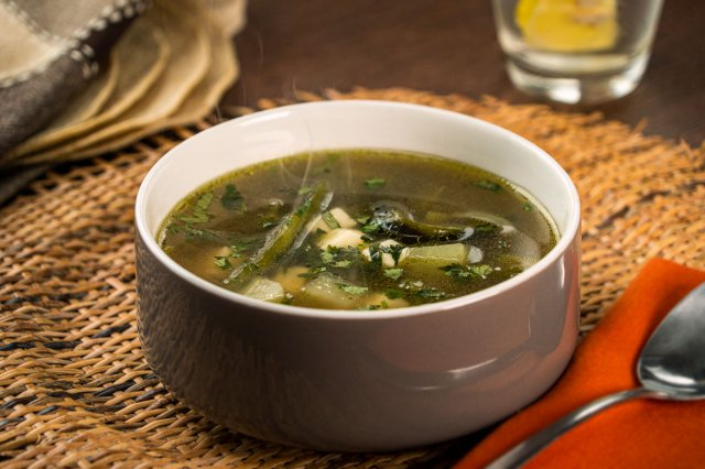 Potato Soup with Rajas
