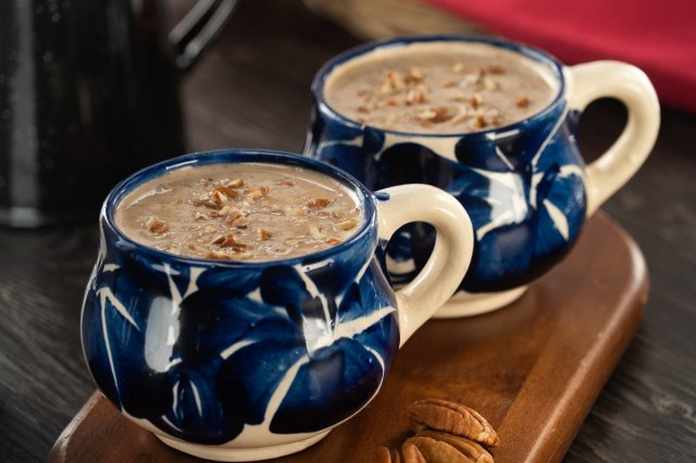 Homemade Walnut Atole
