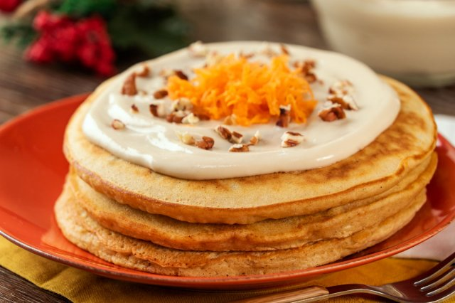 Carrot Cake Hot Cakes