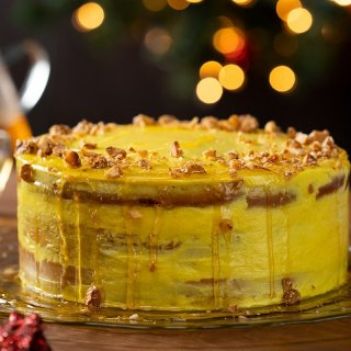Golden Milk Cake