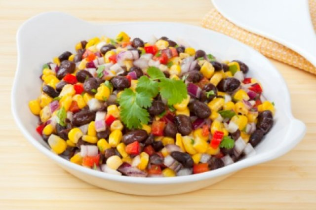 Corn Salad with Bean and Chipotle to the Grill