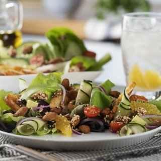 How to remove the boring from salads?