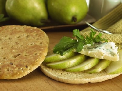 Bimbo Thins con Pera y Queso Gorgonzola