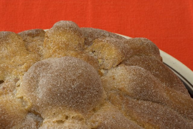 Pan de Muerto Typical Mexican