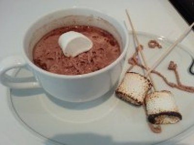 Chocolate Caliente con Malvaviscos
