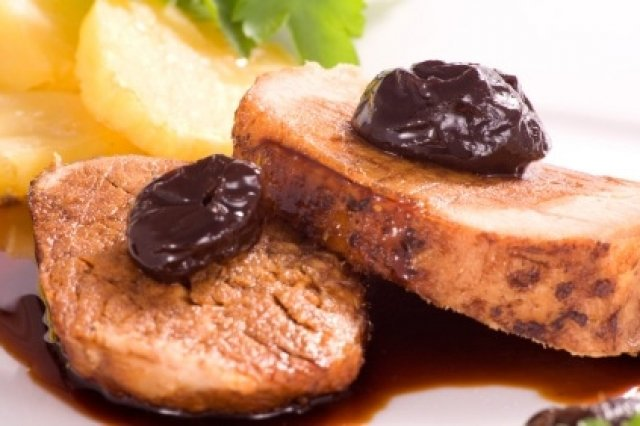 Pork Loin With Prunes