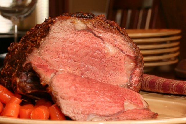 Prime Rib with Pepper