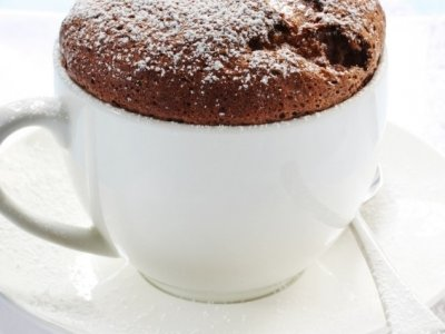 Souffle de Chocolate con Avellana
