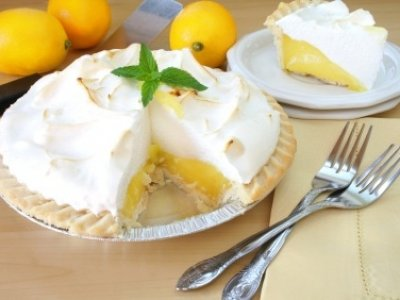 Receta de Pay de Limón con Merengue