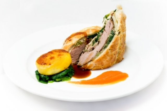 Steak in Wellington Puff pastry
