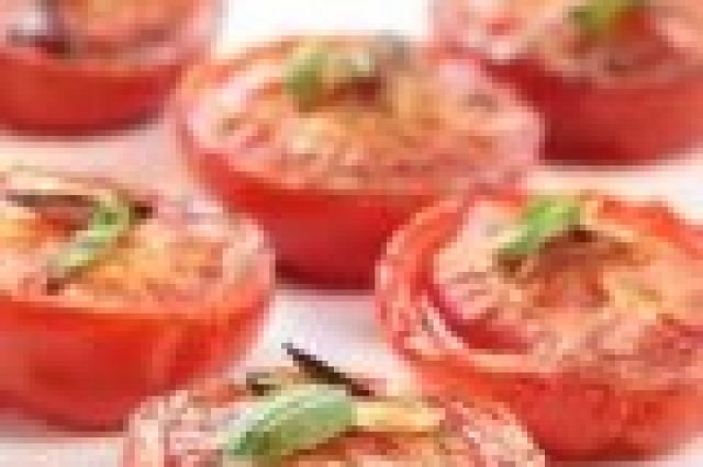 Garlic baked tomatoes