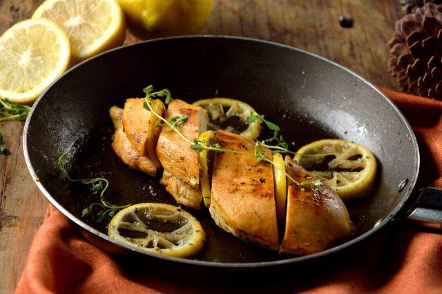 Pollo marinado al Limón y Cilantro