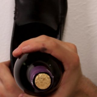 With a shoe4 ways to open a Bottle of Wine without Opener
