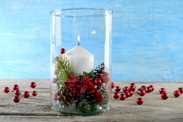 Recipe of How to make a Centerpiece with Candle