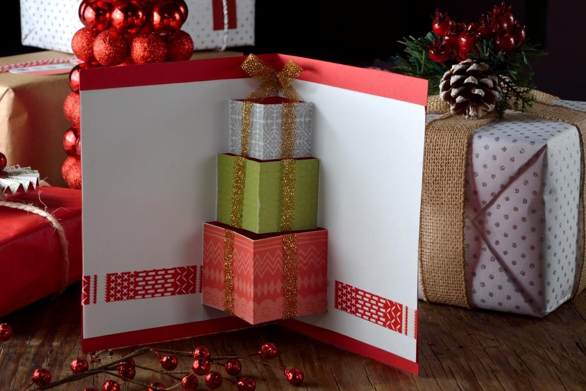 C mo hacer tarjetas navide as 3d kiwilim n - Cosas navidenas para hacer en casa faciles ...