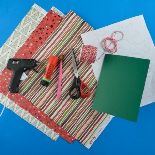Christmas cardHow to make a Star Card