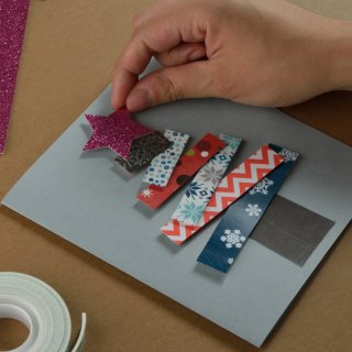 Christmas cardHow to make a Colorful Christmas Card